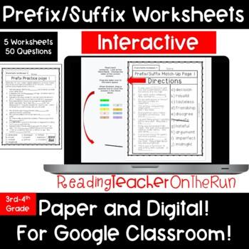 Prefix/Suffix:  Check Your Skills!
