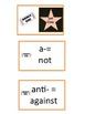 Prefix & Suffix Common Core Reading Stars