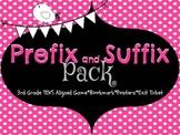 Prefix-Suffix Game, Bookmarks, Class Posters