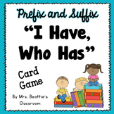 Prefix & Suffix Game