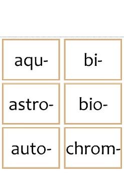 Prefix & Suffix Packet