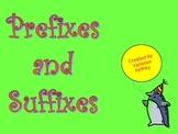 Prefix & Suffix PowerPoint 3rd Grade