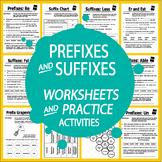 Prefix & Suffix Activities – Hands-On 1st-3rd Prefix & Suffix Worksheet Practice