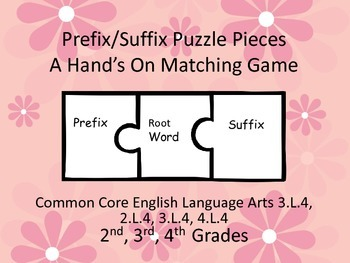Prefix Suffix Puzzle Pieces