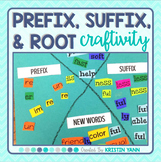 Prefix / Suffix / Root Craftivity