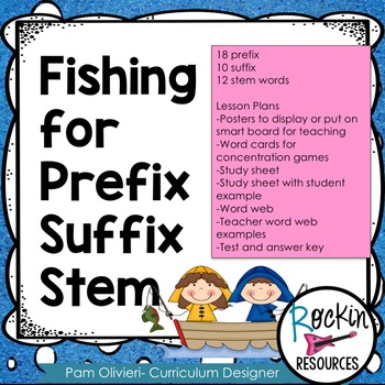 Prefix, Suffix, Stem Unit