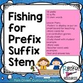 Prefix, Suffix, Stem Unit