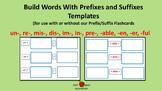 Prefix/Suffix Templates