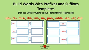 Prefix/Suffix Templates