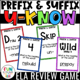 Prefix and Suffix Game for Literacy Centers: U-Know {Vocab