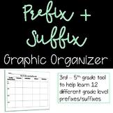 Prefix & Suffix Worksheet