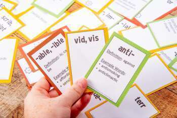 Prefix, Suffix and Root Word Trading Card Bundle