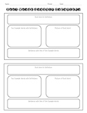 Prefix, Suffix, and Root Word Graphic Organizers