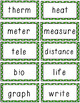 Prefix, Suffix, and Root Word Match Game BUNDLE