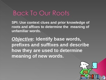 Prefix, Suffix, and Root Words