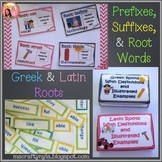 Prefixes and Suffixes, Greek and Latin Roots - Bundle