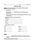 Prefix, Suffix, and Root Words guided notes and assessment