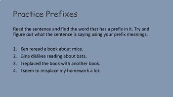 Prefix Suffix and Roots