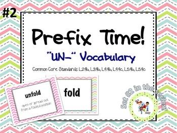 Prefix Time! Series #2: UN-