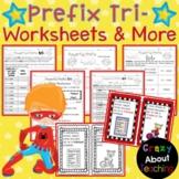 Prefix Tri- Worksheets & More