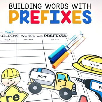 Prefix Word Building | Prefixes Center