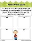 Prefix Word Hunt