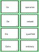Prefix Word Work and Vocabulary Builder Lessons 1-2