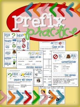 Prefix Activity Worksheets