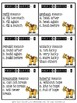 Prefix and Suffix 24 Task Cards and Scoot Game #5 Common P