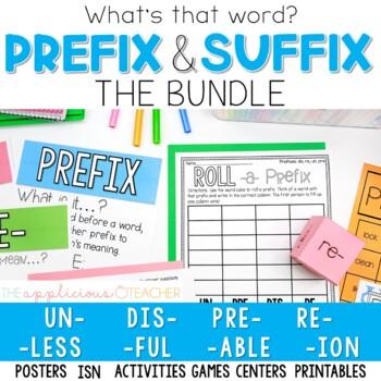 Prefix and Suffix Activities