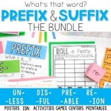 Prefix and Suffix Activities The Bundle