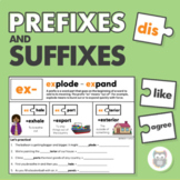 Prefix and Suffix Activities - Affixes and Morphology for