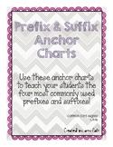 Prefix and Suffix Anchor Charts