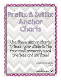 Prefix and Suffix Anchor Charts