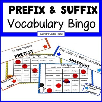 Prefix and Suffix Bingo!
