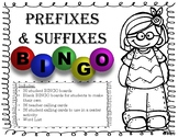 Prefix and Suffix Bingo