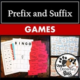 Prefix and Suffix Games (BINGO, I have who has)