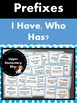 Prefix and Suffix Games (BINGO, I have who has)