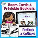 Prefixes and Suffixes Activities | Boom Cards ELA