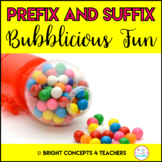 Prefix and Suffix Bubblicious Fun!