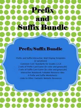 Prefix and Suffix Bundle