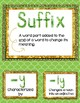 Prefix and Suffix Bundle