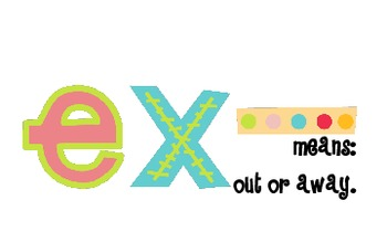 Prefix and Suffix Cards