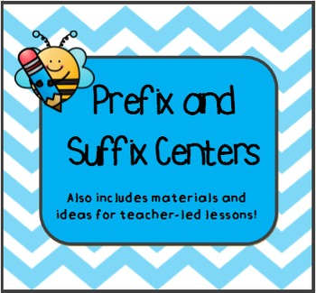 Prefix and Suffix Centers and Lessons