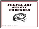 Prefix and Suffix Checkers