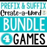 Prefix and Suffix {Create-a-Word} BUNDLE