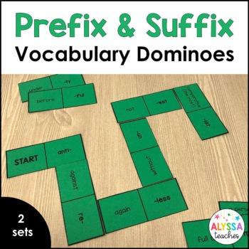 Prefix and Suffix Dominoes