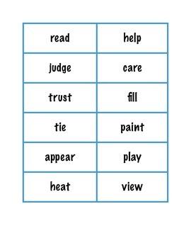 Prefix and Suffix File Folder Game