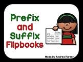 Prefix and Suffix Flipbook
