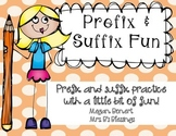 Prefix and Suffix Fun